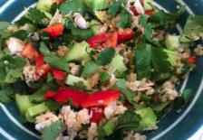quinoa-tuna salad