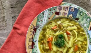 Healing Turkey Noodle Soup