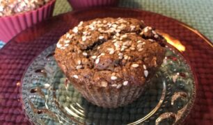Sugarless Berry Muffins