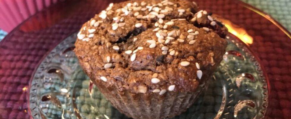 Sugarless Berry Muffins