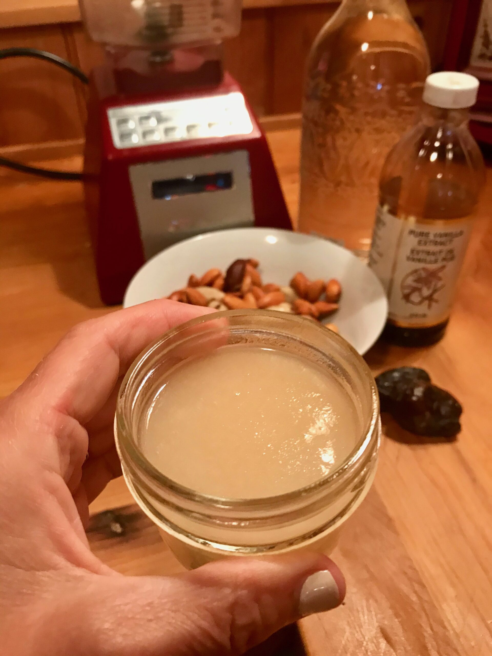 Nut Milk with Sea Moss Gel