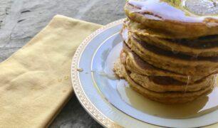 Turmeric Pumpkin Pancakes