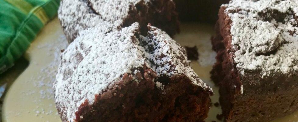 Raw Beet Chocolate Cake