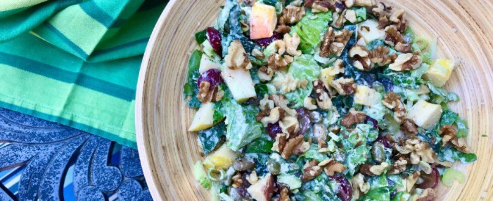 Edamame Waldorf Salad (2)